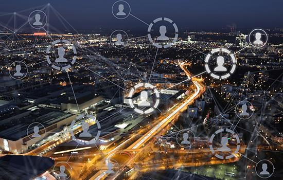 Connected city through server virtualisation
