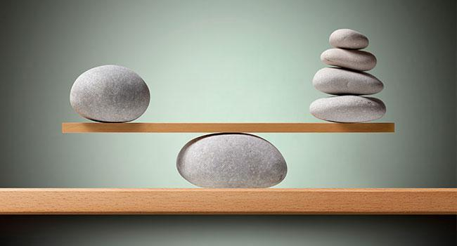 Find the right balance