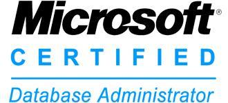 Microsoft Certified Database Administrators