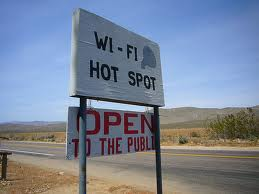 WiFi in Desert