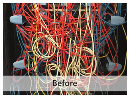 Constantin's Voice and Data Cabling - Before