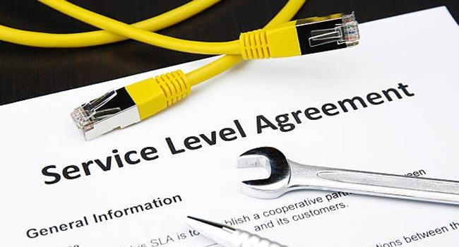 What do their service level agreements (SLAs) look like