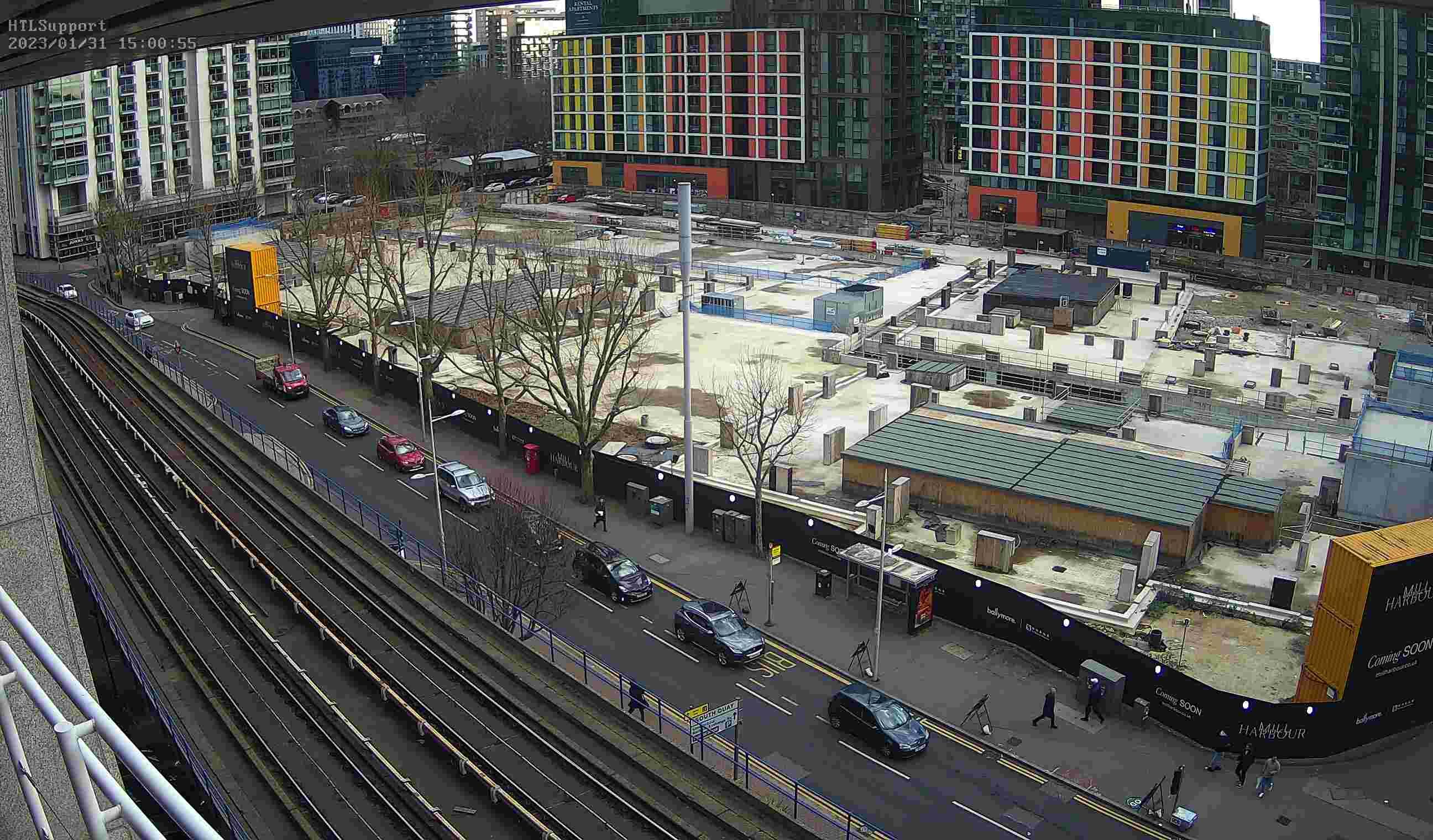 Webcam: London Docklands, Londra, Inghilterra